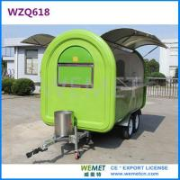 Buy cheap WZQ618 3meter Large size food trailer, Concession stand from wholesalers