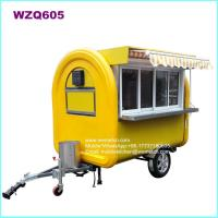Buy cheap WZQ605 Stainless Steel Mobile Food Trailer from wholesalers