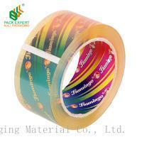 Buy cheap shenzhen bull packaging material crystal clear low noise adhesive tape from wholesalers