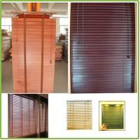 Buy cheap Chinese Horizontal Bamboo Venetian Blinds from wholesalers