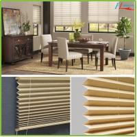 Buy cheap Cheap price dustproof pleated window blinds curtain from wholesalers
