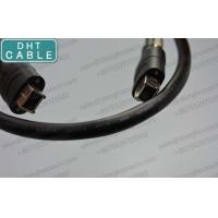 Buy cheap Firewire Locking Cable with Thumbscrew Lock Alloy Connector 3.28 Fts from wholesalers
