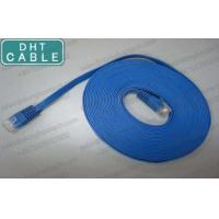 Buy cheap CAT6 Super Flat Gigabit Ethernet Cable / Patch Cord Network Cables Wholesale from wholesalers