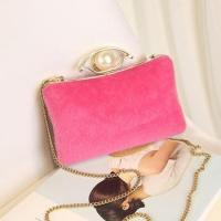 Buy cheap China wholesale Newest beautiful hard case frame PU leather clutch bag women from wholesalers