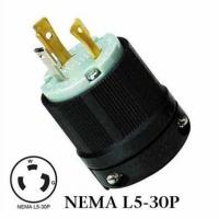 Buy cheap WJ-8330 NEMA L5-30P Twist Lock Wiring Plug 30A 125VAC 3Wire Locking Plug Male Plug,UL power plug,gen from wholesalers