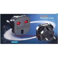 Buy cheap No.:9625 UK to EU plug, Schuko adapter, 13A England adapter, Germany converter, GS plug from wholesalers