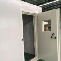 Buy cheap Noise Reduction Steel Doors Soundproof Glass Seals Sliding Sound Deadening Door from wholesalers