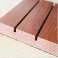 Buy cheap Groove Wood Drop Ceiling Panels Acoustic Tiles from wholesalers