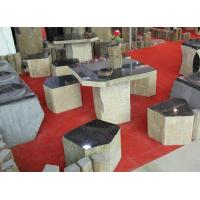 Buy cheap Basalt column table from wholesalers