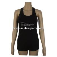 Buy cheap Women Sleeveless Gym Sports Shirts Yoga Tank Tops Vest from wholesalers