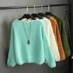 Buy cheap Autumn and winter simple knitted pullovers 1706148 from wholesalers