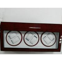 Buy cheap Luxury Piano Paint 3 Rotors Motor Watch Winder Box from wholesalers