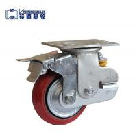 Buy cheap European adjustable PU Scaffolding caster wheel from wholesalers