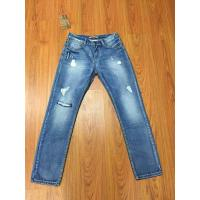 Buy cheap CWMJ010 Famous Men Jeans Ripped Jeans Blue Rock Star Mens Jeans from wholesalers