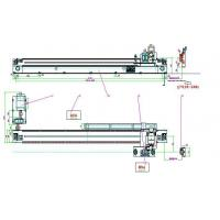 Buy cheap Cut-off machine with single saw blade linear reciprocating cutting from wholesalers