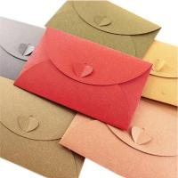 Buy cheap Lgterat Heart Gift Card Holder Sleeve Greeting Invitation Envelope Pack of 50Random Color from wholesalers