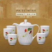 Buy cheap High Quality White Porcelain Afternoon Tea Set 6pcs from wholesalers