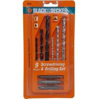 Buy cheap Black And Decker 9Pc Drill & Driver Bit Set 50688G from wholesalers