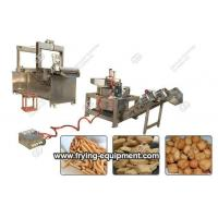 Buy cheap Belt Ghana Chips Frying Machine Line|Chin Chin Fryer Machine from wholesalers