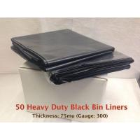 Buy cheap Black Heavy Duty Bin Liner from wholesalers