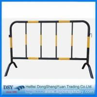Buy cheap Pvc Yellow&Black Color Coated Movable Temporary Fence from wholesalers