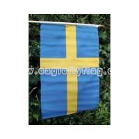 Buy cheap Polyester Sweden LargeHandheld Waving Flag from wholesalers