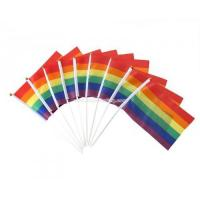Buy cheap Cheap Gay Pride Rainbow Waving Flag from wholesalers