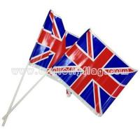 Buy cheap Plastic Country Handheld Waving Flag from wholesalers