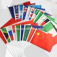 Buy cheap Fabric Country Handheld Waving Flag from wholesalers