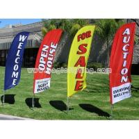 Buy cheap Cheap Custom Outdoor Swooper Flags from wholesalers