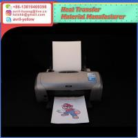 Buy cheap dark color inkjet heat transfer paper from wholesalers