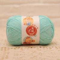 Buy cheap Wholesale Bamboo and Cotton Blend Baby Weight Hand Knitting Wool Yarn Ball product