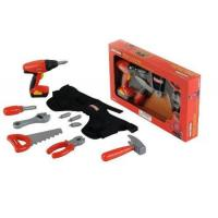 Buy cheap My First Craftsman Cordless Power Drill, Tool Pouch and Misc. Tools from wholesalers