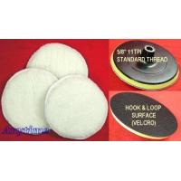Buy cheap 7 POLISHER/BUFFER SOFT WOOL BONNET & PAD with HOOK & LOOP for POLISHING/BUFFING from wholesalers