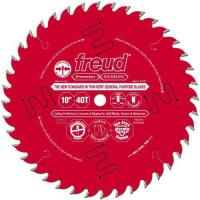 Buy cheap Freud P410T 10-Inch by 40-Teeth 30-Degree Hi-ATB Premier Fusion Thin Kerf Saw Blade 5/8-Inch Arbor from wholesalers