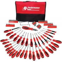 Buy cheap Performance Tool W1721 Screwdriver Set with Pouch, 100-Piece from wholesalers