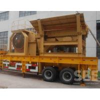 Buy cheap jaw type mobile crushing station for sale from wholesalers