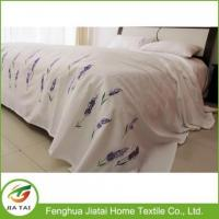 Buy cheap Custom Export King Size Hand Embroidery Bed Sheet from wholesalers