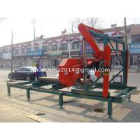 Buy cheap China Portable lumber mobile saw mill with diesel engine horizontal band saws from wholesalers