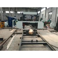 Buy cheap Lumber Cutting Mobile Horizontal Band Saw Mill With Diesel Engine from wholesalers