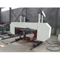Buy cheap Low Price Guaranteed Quality Large Horizontal Band Sawmill Lumber Cutting Band Saw Mill from wholesalers