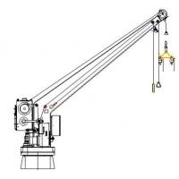 Buy cheap Single Arm Slewing BoatRaft Davit & Crane from wholesalers