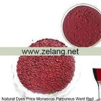 Buy cheap Natural Dyes Price Monascus Purpureus Went red Sale from wholesalers