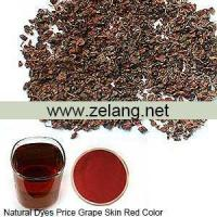 Buy cheap Natural Dyes Price Grape Skin Red Color Sale from wholesalers