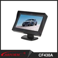 Auto 4.3 inch monitor , TFT LCD Digital monitor, Rearview Parking system