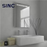 Lighted Mirrors LED Bathroom Mirror with Motion sensor and shaver socket