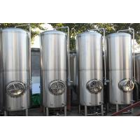 Buy cheap 1500L bright tank beer brewing equipment beer brite storage tank single wall tank from wholesalers