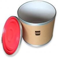 Buy cheap High-temperature Filling Cardboard Drum from wholesalers