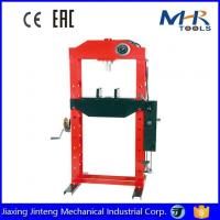 Buy cheap 30 Ton Hydraulic Heavy Duty Shop Press with Gauge Foot and Hand Pump from wholesalers