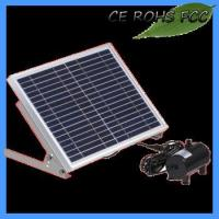 Buy cheap Solar pool pump, suitable for outdoor landscape decoration, decorative rockery pond from wholesalers